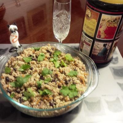 Quinoa Mushroom Pilaf with Black Beans – koolkosherkitchen