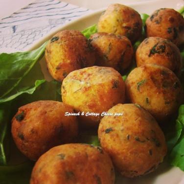 TRH Spinach & Cottage Cheese pops