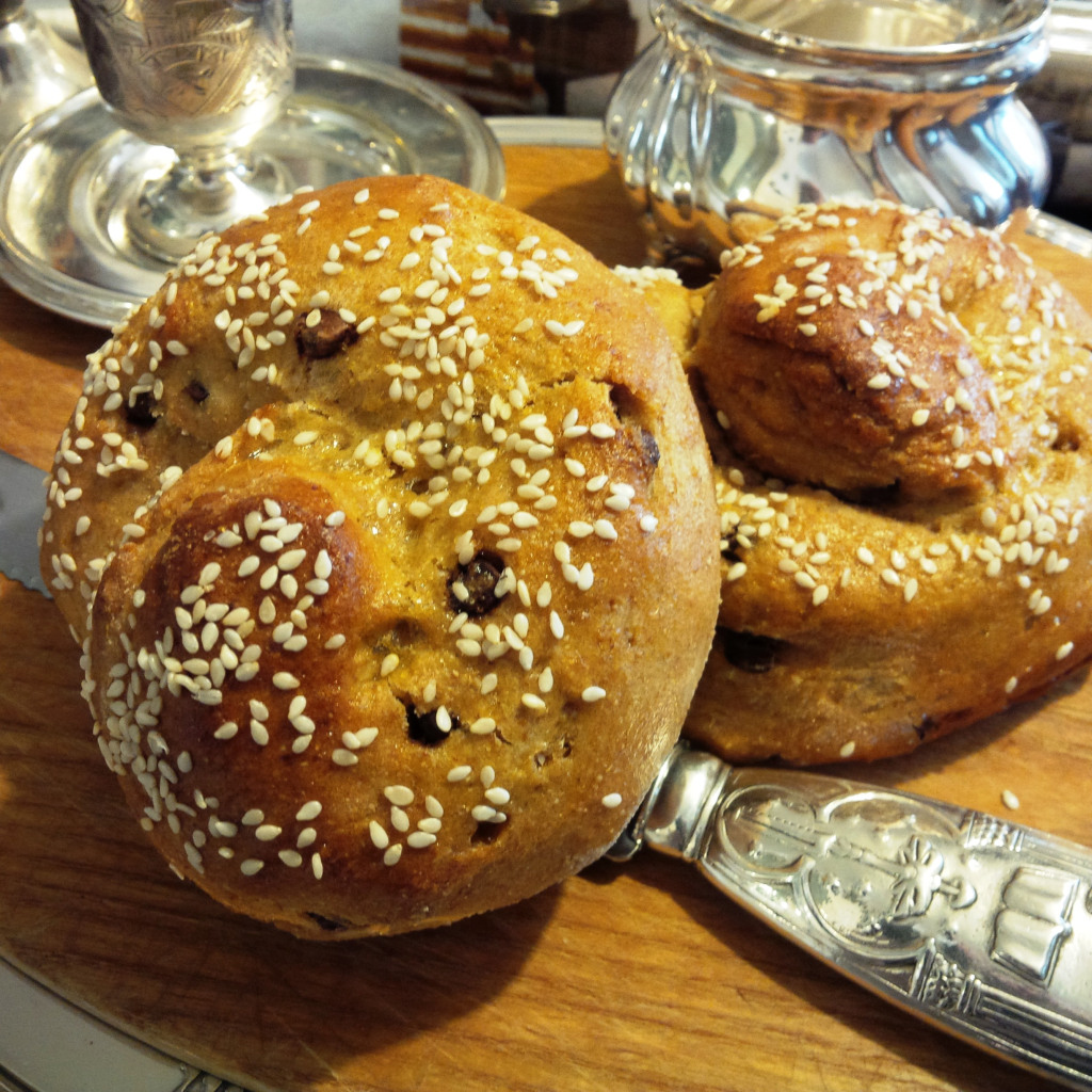 My Grandmother's Recipes: Part 1, Round Challah.
