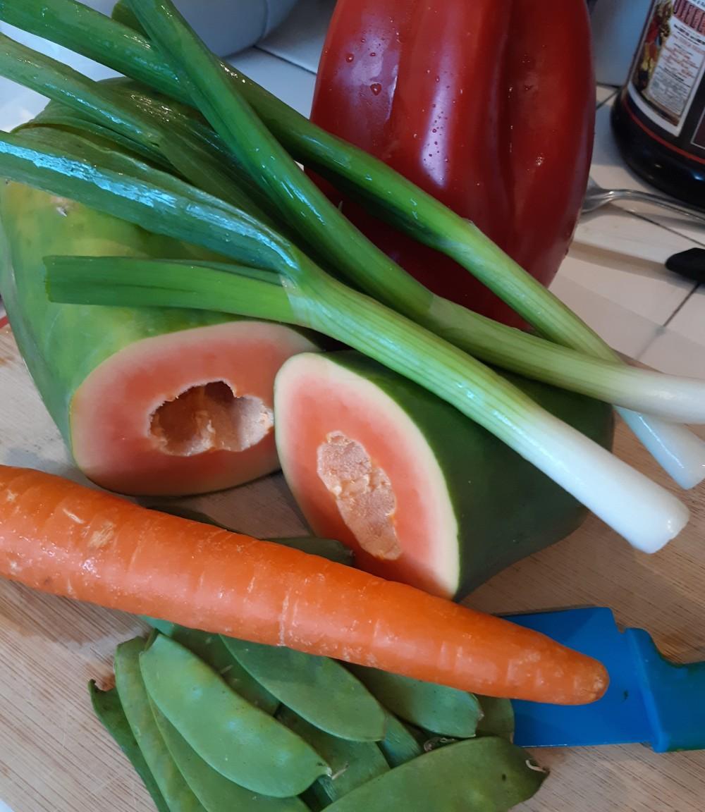 green papaya 1