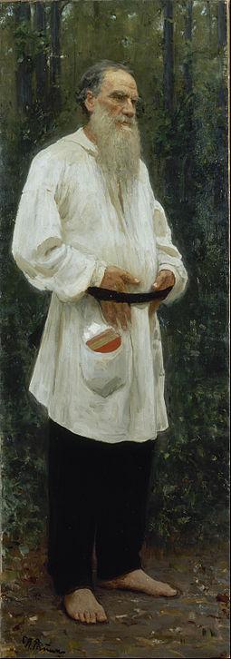 Ilya_Repin_-_Leo_Tolstoy_Barefoot_-_Google_Art_Project