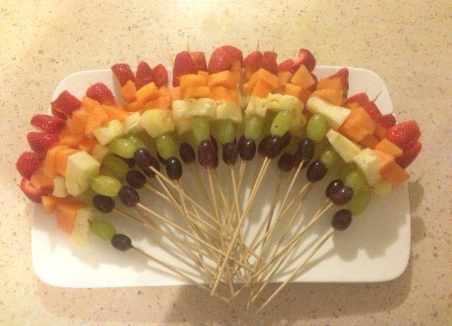 Fruit Rainbow: Light, Love, Laugh